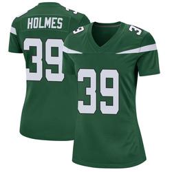 Game Women's Valentine Holmes New York Jets Nike Jersey - Gotham Green