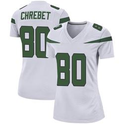 Game Women's Wayne Chrebet New York Jets Nike Jersey - Spotlight White