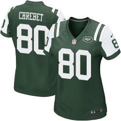 Game Women's Wayne Chrebet New York Jets Nike Team Color Jersey - Green