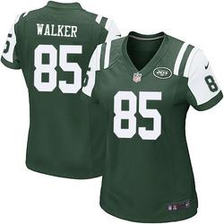 Game Women's Wesley Walker New York Jets Nike Team Color Jersey - Green