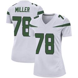 Game Women's Wyatt Miller New York Jets Nike Jersey - Spotlight White