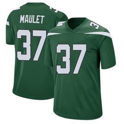 Game Youth Arthur Maulet New York Jets Nike Jersey - Gotham Green