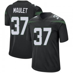 Game Youth Arthur Maulet New York Jets Nike Jersey - Stealth Black