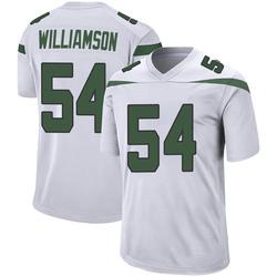 Game Youth Avery Williamson New York Jets Nike Jersey - Spotlight White