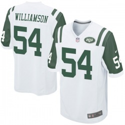 Game Youth Avery Williamson New York Jets Nike Jersey - White
