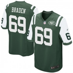 Game Youth Ben Braden New York Jets Nike Team Color Jersey - Green