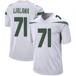 Game Youth Ben Ijalana New York Jets Nike Jersey - Spotlight White