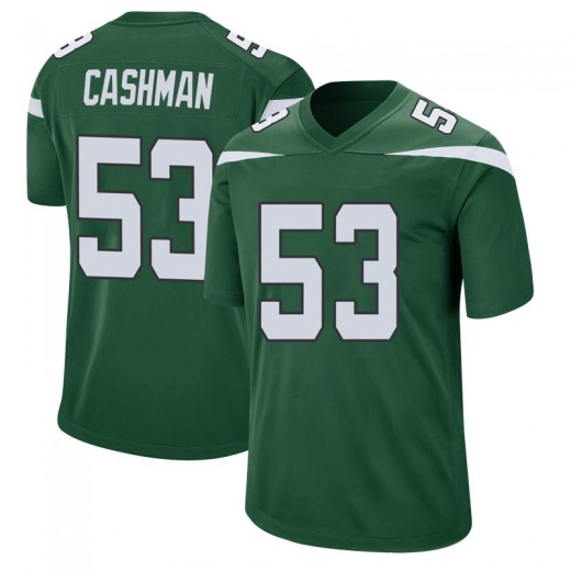 Game Youth Blake Cashman New York Jets Nike Jersey - Gotham Green