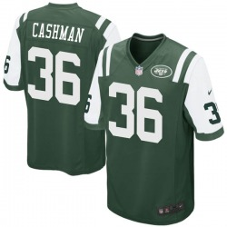 Game Youth Blake Cashman New York Jets Nike Team Color Jersey - Green