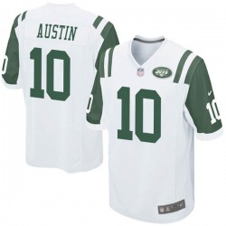 Game Youth Blessuan Austin New York Jets Nike Jersey - White