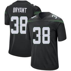 Game Youth Brandon Bryant New York Jets Nike Jersey - Stealth Black