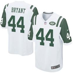 Game Youth Brandon Bryant New York Jets Nike Jersey - White