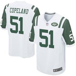 Game Youth Brandon Copeland New York Jets Nike Jersey - White
