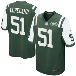 Game Youth Brandon Copeland New York Jets Nike Team Color Jersey - Green