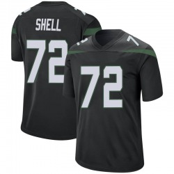 Game Youth Brandon Shell New York Jets Nike Jersey - Stealth Black
