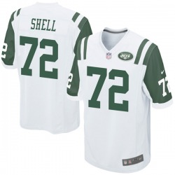 Game Youth Brandon Shell New York Jets Nike Jersey - White