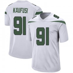 Game Youth Bronson Kaufusi New York Jets Nike Jersey - Spotlight White