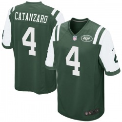 Game Youth Chandler Catanzaro New York Jets Nike Team Color Jersey - Green