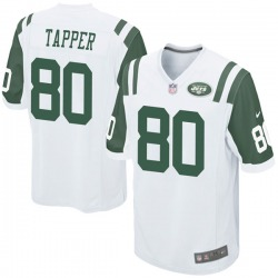 Game Youth Charles Tapper New York Jets Nike Jersey - White