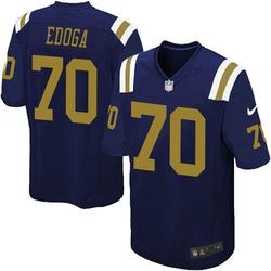 Game Youth Chuma Edoga New York Jets Nike Alternate Jersey - Navy Blue