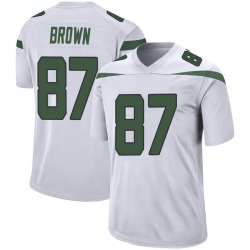 Game Youth Daniel Brown New York Jets Nike Jersey - Spotlight White