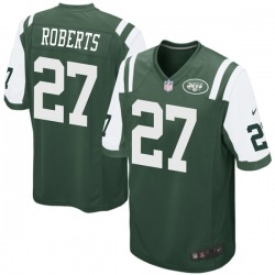 Game Youth Darryl Roberts New York Jets Nike Team Color Jersey - Green