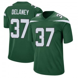 Game Youth Dee Delaney New York Jets Nike Jersey - Gotham Green