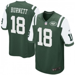 Game Youth Deontay Burnett New York Jets Nike Team Color Jersey - Green