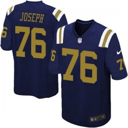 Game Youth Dieugot Joseph New York Jets Nike Alternate Jersey - Navy Blue
