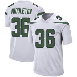 Game Youth Doug Middleton New York Jets Nike Jersey - Spotlight White