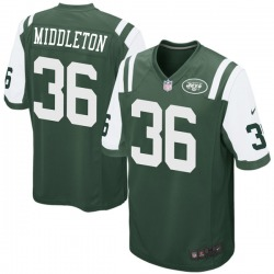 Game Youth Doug Middleton New York Jets Nike Team Color Jersey - Green