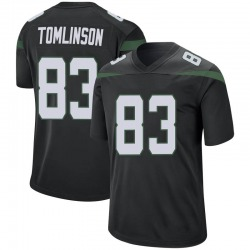 Game Youth Eric Tomlinson New York Jets Nike Jersey - Stealth Black