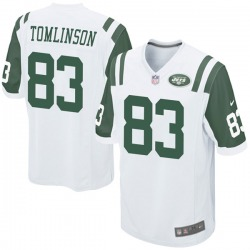 Game Youth Eric Tomlinson New York Jets Nike Jersey - White