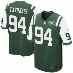 Game Youth Folorunso Fatukasi New York Jets Nike Team Color Jersey - Green