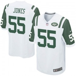 Game Youth Fredrick Jones New York Jets Nike Jersey - White