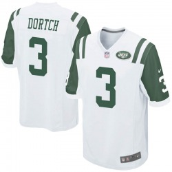 Game Youth Greg Dortch New York Jets Nike Jersey - White