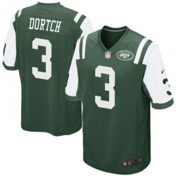 Game Youth Greg Dortch New York Jets Nike Team Color Jersey - Green