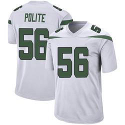 Game Youth Jachai Polite New York Jets Nike Jersey - Spotlight White