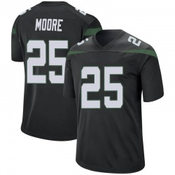 Game Youth Jalin Moore New York Jets Nike Jersey - Stealth Black