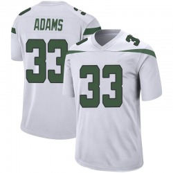 Game Youth Jamal Adams New York Jets Nike Jersey - Spotlight White