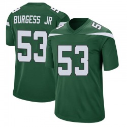 Game Youth James Burgess New York Jets Nike Jersey - Gotham Green