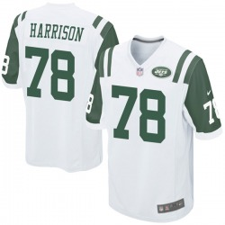 Game Youth Jonotthan Harrison New York Jets Nike Jersey - White