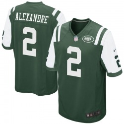 Game Youth Justin Alexandre New York Jets Nike Team Color Jersey - Green