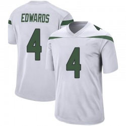 Game Youth Lachlan Edwards New York Jets Nike Jersey - Spotlight White