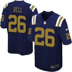 Game Youth Le'Veon Bell New York Jets Nike Alternate Jersey - Navy Blue