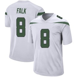 Game Youth Luke Falk New York Jets Nike Jersey - Spotlight White