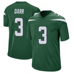 Game Youth Matt Darr New York Jets Nike Jersey - Gotham Green