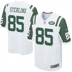Game Youth Neal Sterling New York Jets Nike Jersey - White
