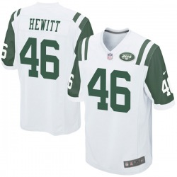 Game Youth Neville Hewitt New York Jets Nike Jersey - White