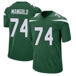 Game Youth Nick Mangold New York Jets Nike Jersey - Gotham Green